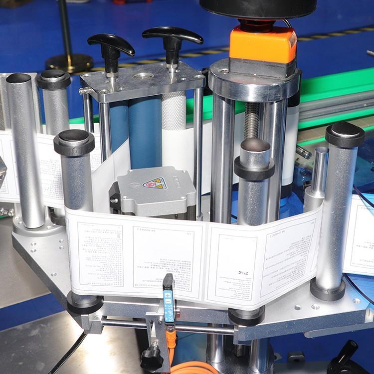 smart system double side sticker labeling machine manufacturer for square bottles-2