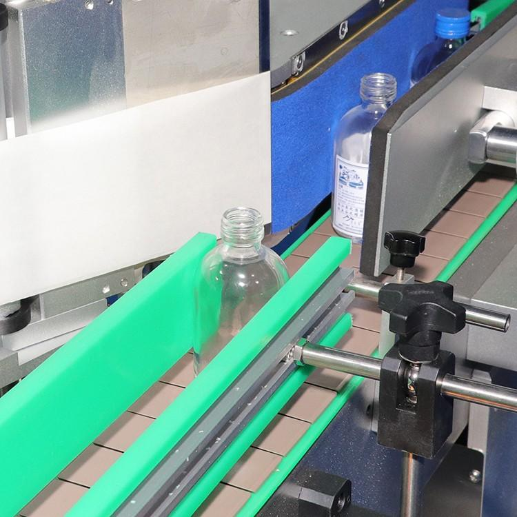 smart system double side sticker labeling machine manufacturer for square bottles-3