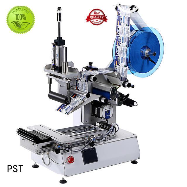 PST Semi-automatic Square Bottles Labeling Machine/Conveyor Type/PST617