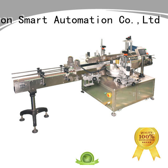 new double side labeling machine company for round bottles