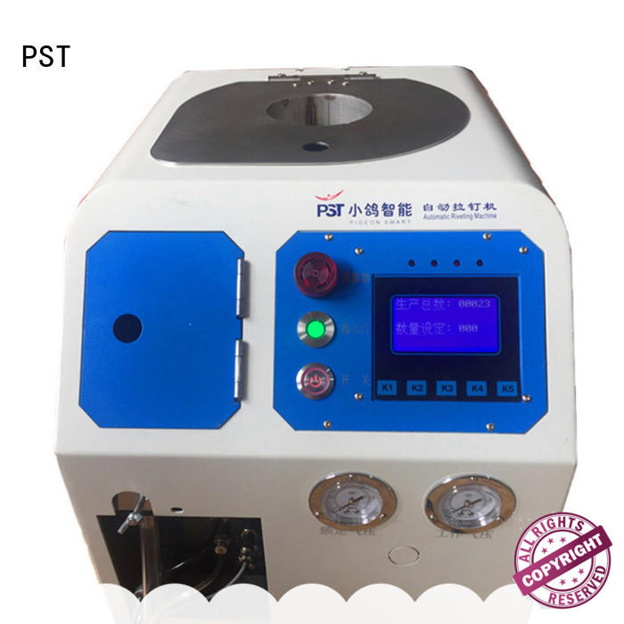 PST superior quality automatic riveting machine supply for computer terminal case