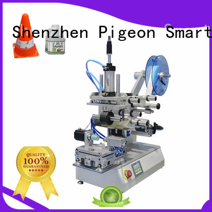 semi automatic plance labeling machine factory for boxes