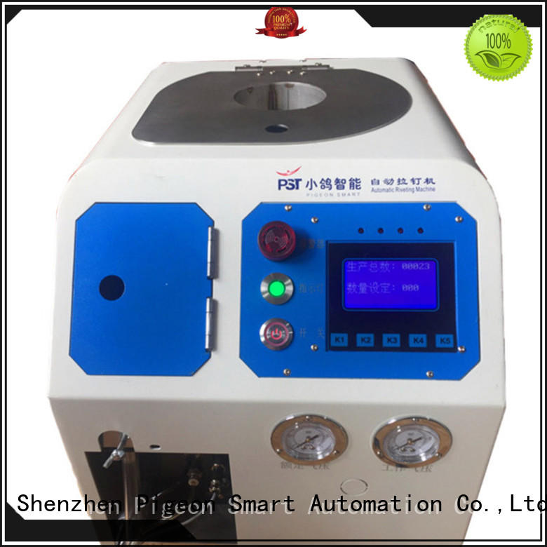 PST automatic riveting machine manufacturer for computer terminal case