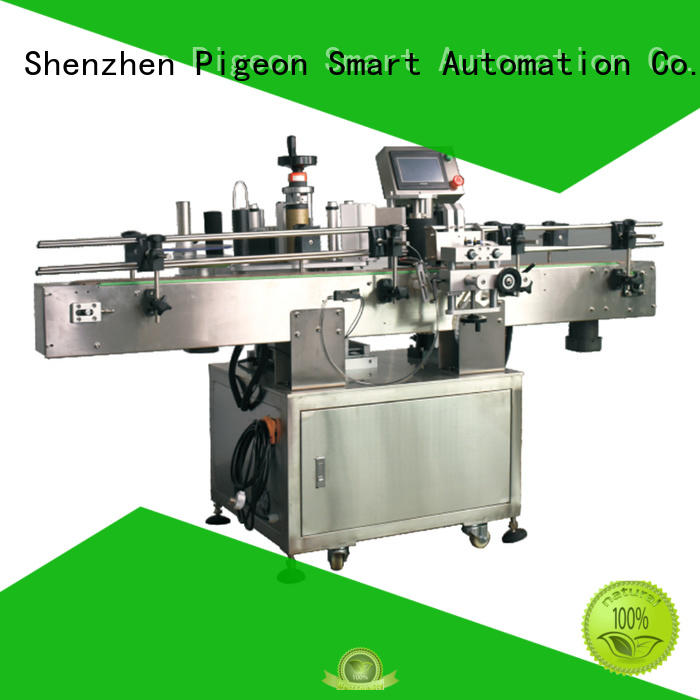 PST automatic label applicator company for round bottles