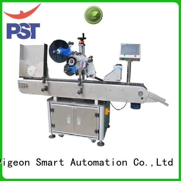 PST custom automatic bottle labeler with custom service for cosmetics bottles