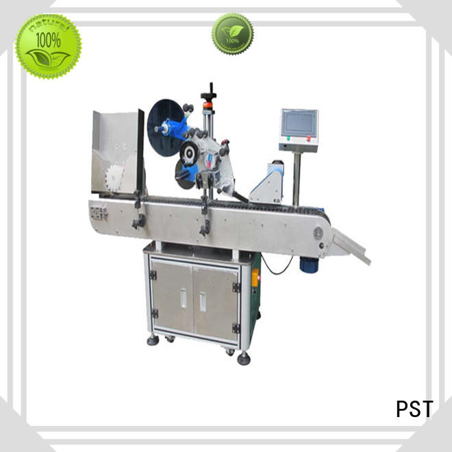 horizontal round bottle labeling machine shrink labeling equipment for square bottles PST