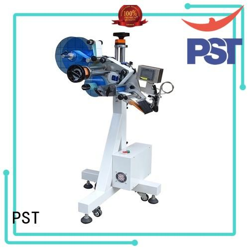 PST automatic flat labeling machine supplier for box