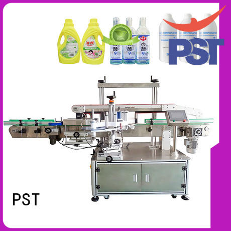 smart system bottle labeling machine bucket for flat bottles