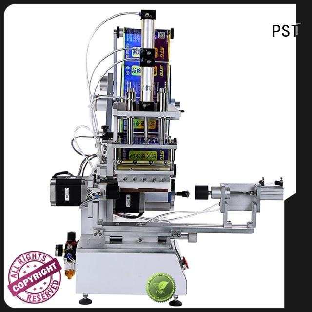 PST flat labeling machine fast delivery for round bottles