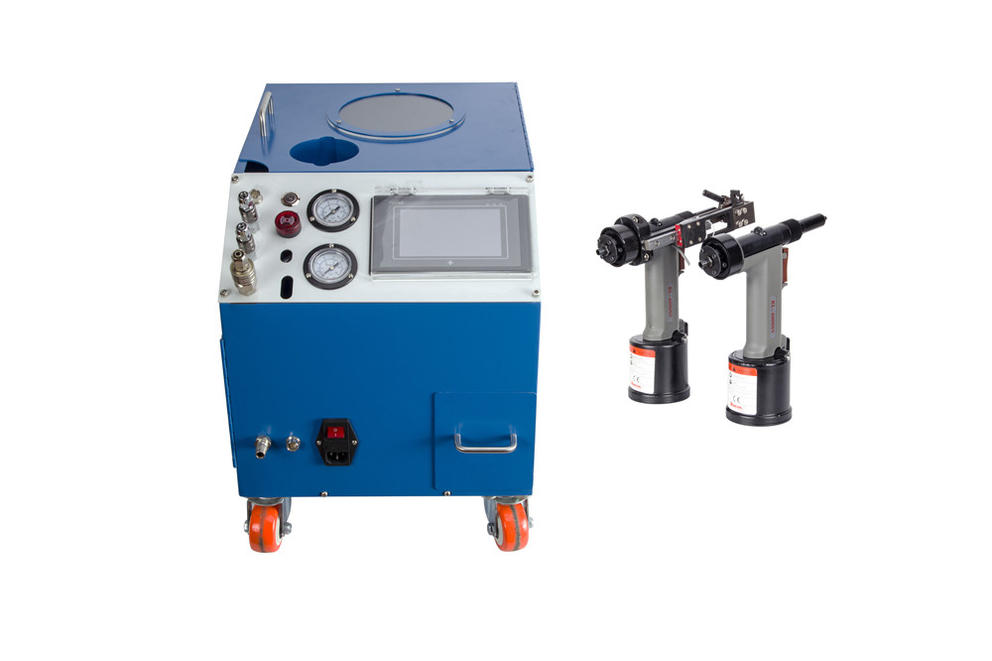 How to use PST Automatic Riveting Machine?