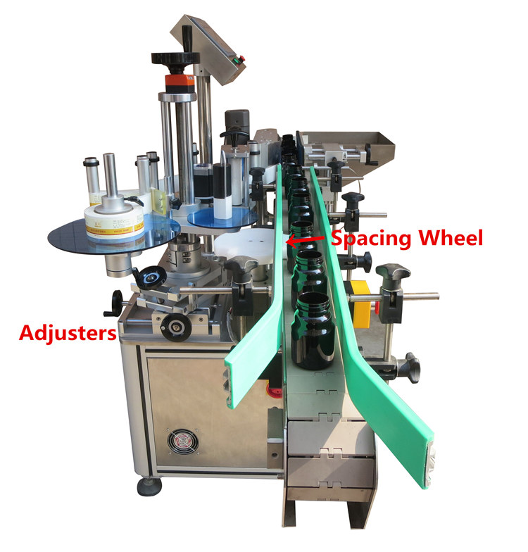 PST bottle sticker labeling machine for busniess for wine bottle-1