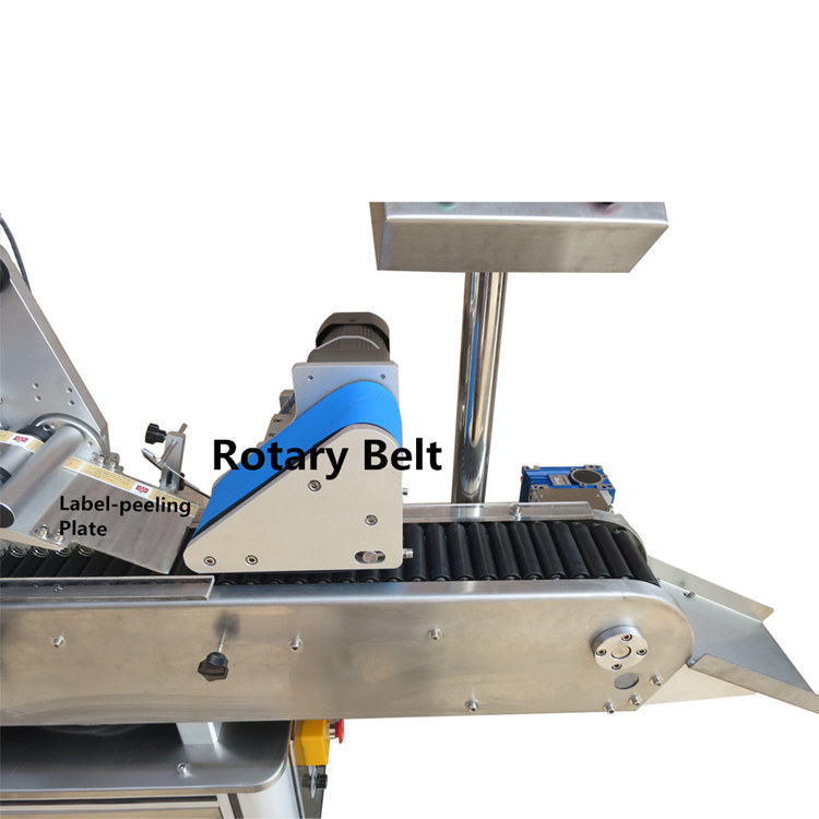 latest automatic bottle labeler supply for round bottle-3