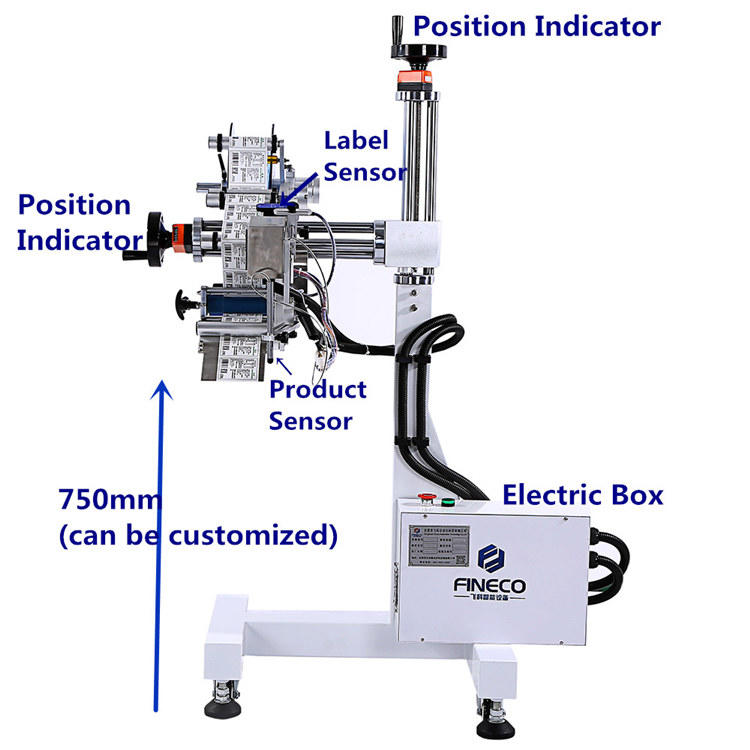 labeling flat surface labeling machine machine book PST