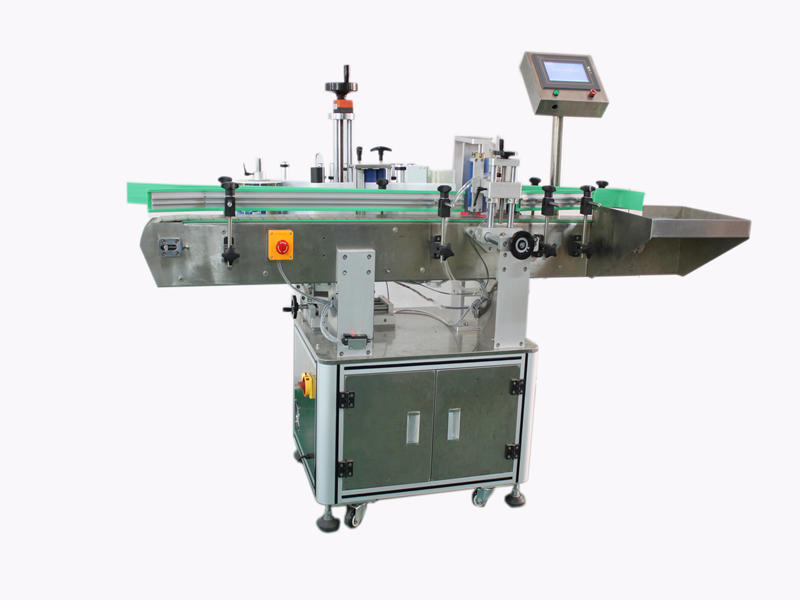 PST 805 Fully Automatic Round Bottles Labeling Machine