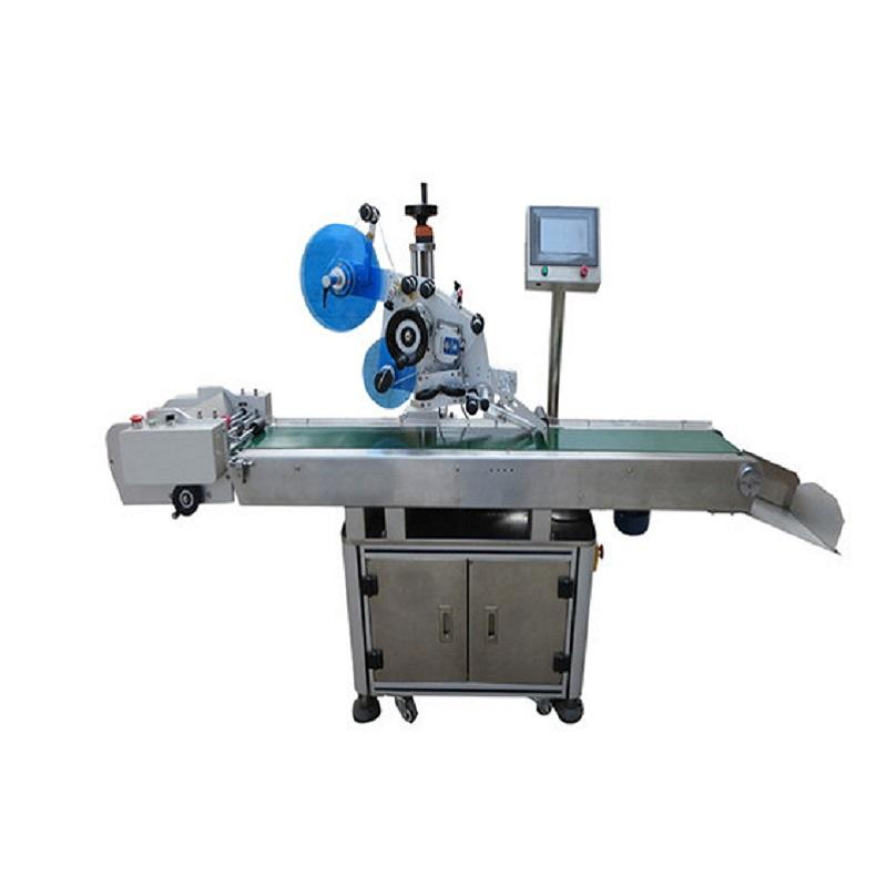 PST Fully Automatic Card Labeling Machine For Color Paper Box/Polybags/PST812