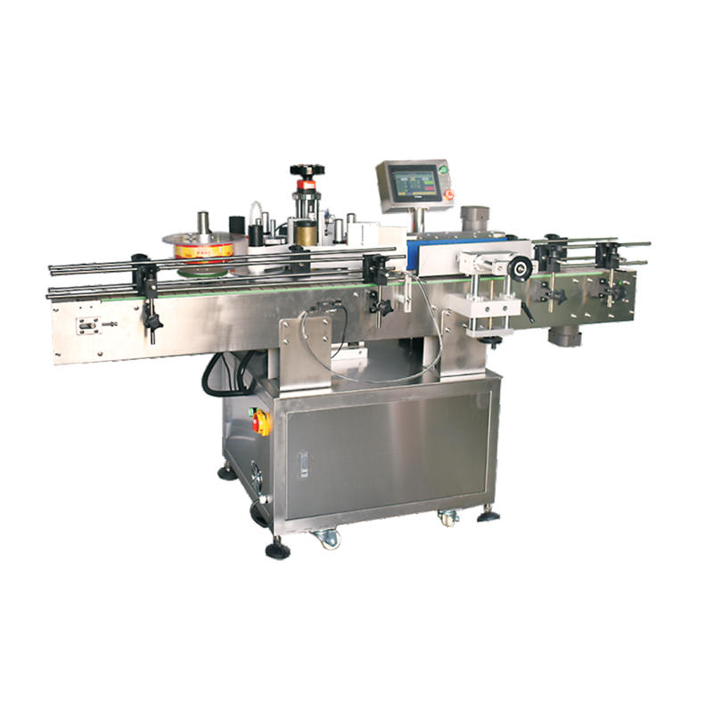Automatic Rolling Round Bottle Labeling Machine
