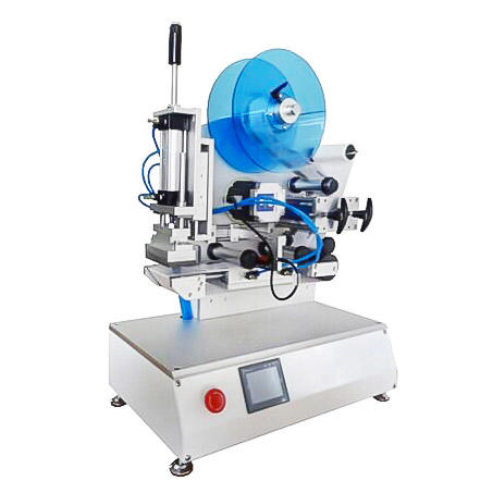 Introduction of Semi Automatic Round Bottle Labeling Machine PST412