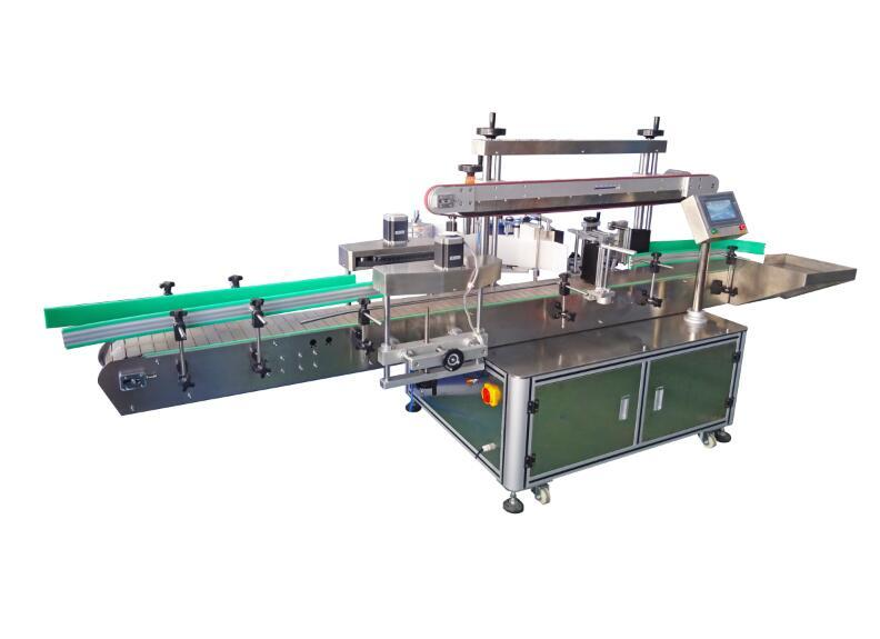 PST501 Full Automatic Single Side Labeling Machine + Top
