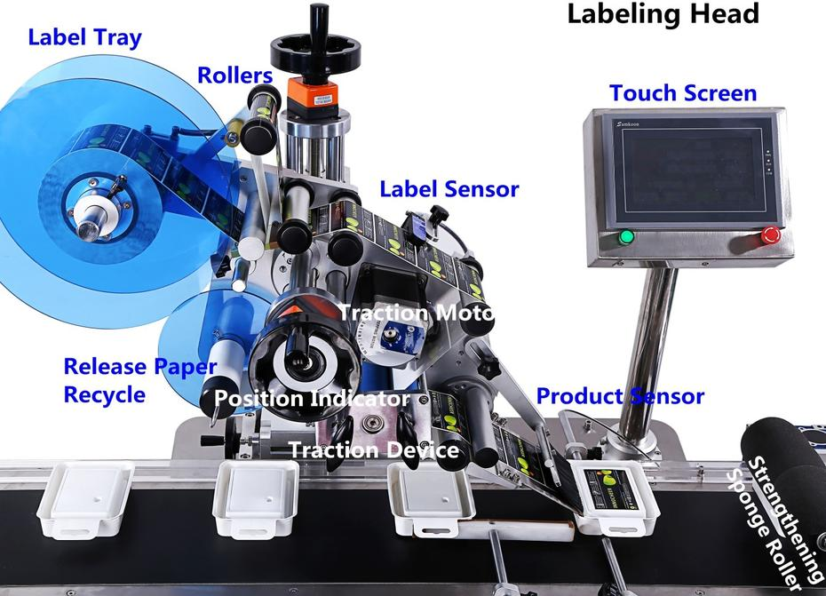 Classic type of labeling machine