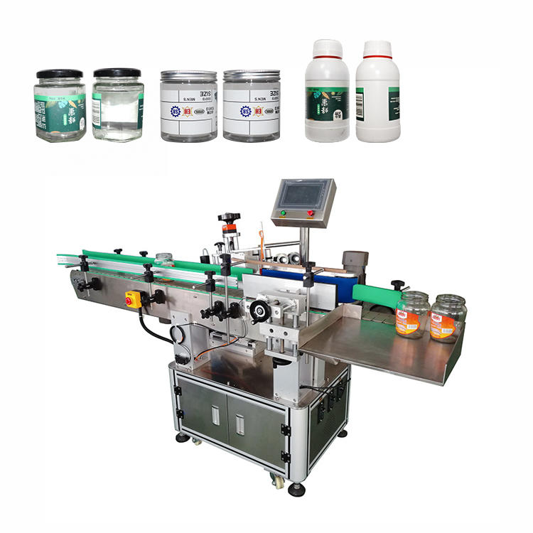 Full Automatic Rolling Round Bottle Labeling Machine for Assembly Line Packaging