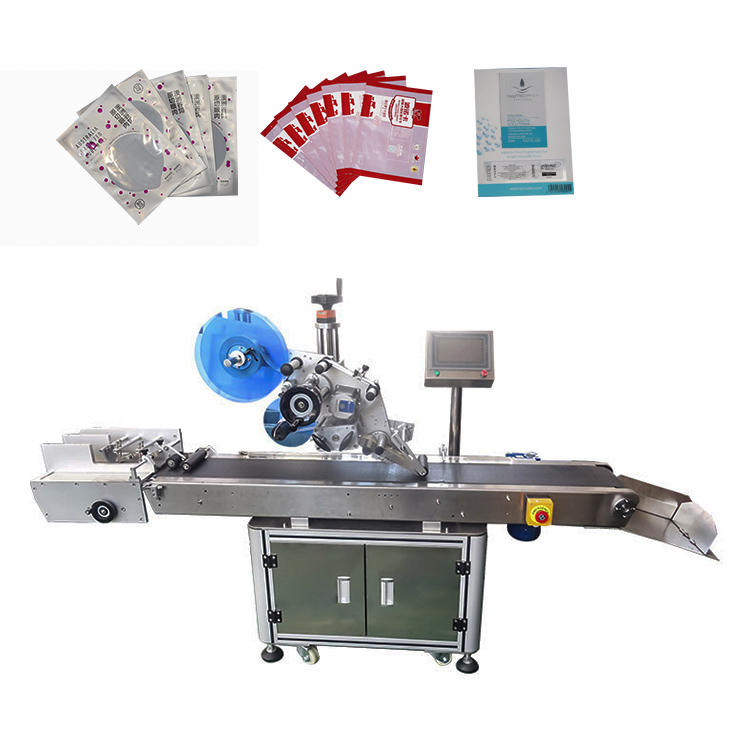 2020 Hot Sale Sticker Labeling Machine Fully Automatic Plane Bottle Suction Labeling Equipment