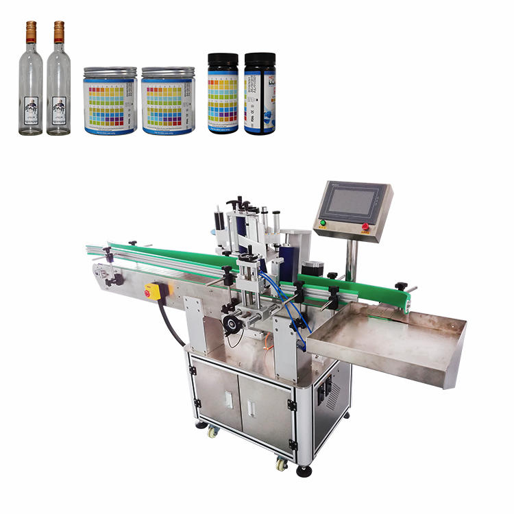 Fully Automatic Vertical Positioning Round Bottle Sticker Labeling Packaging Machine (PST-C02)