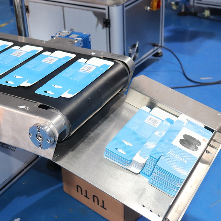 PST wrap label machine with label sensor for industry-2