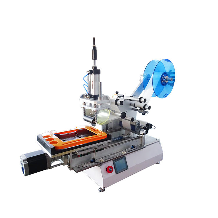 Semi Automatic Plane Roller Labeller Labeling Packing Machine (PST-P15)