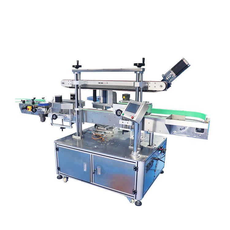 Automatic Single Double Side Flat Square Round Bottle Sticker Labelling Packing Machine (PST-S01)