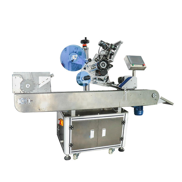 Full Automatic Horizontal Round Bottle Standing Unstable Cylindrical Object Labeling Machine (PST-C05)