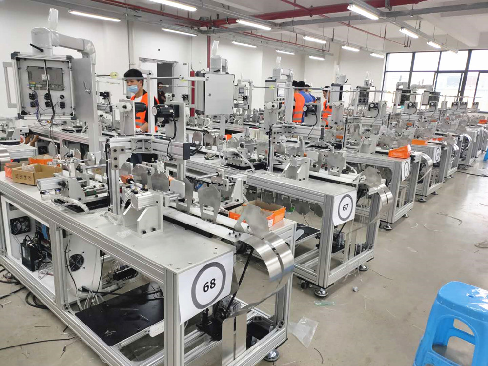 PST high-quality KN95 full automatic mask machine manufacturers for sale-9