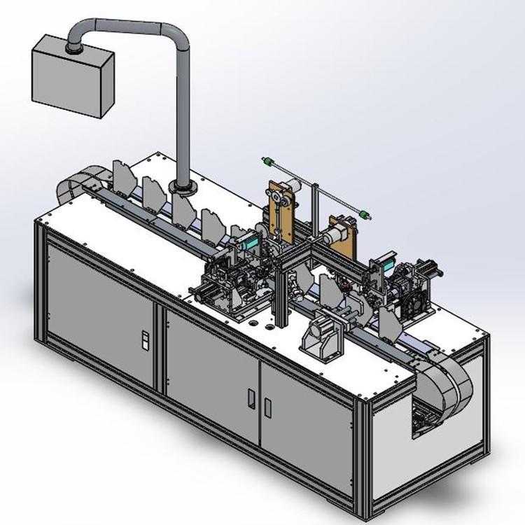 KN95 Semi-automatic Mask Making Machine
