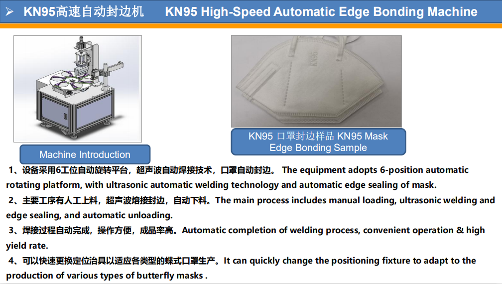 PST custom KN95 semi-automatic mask machine suppliers for medical products