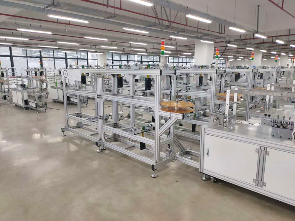 PST custom KN95 semi-automatic mask machine suppliers for medical products-11