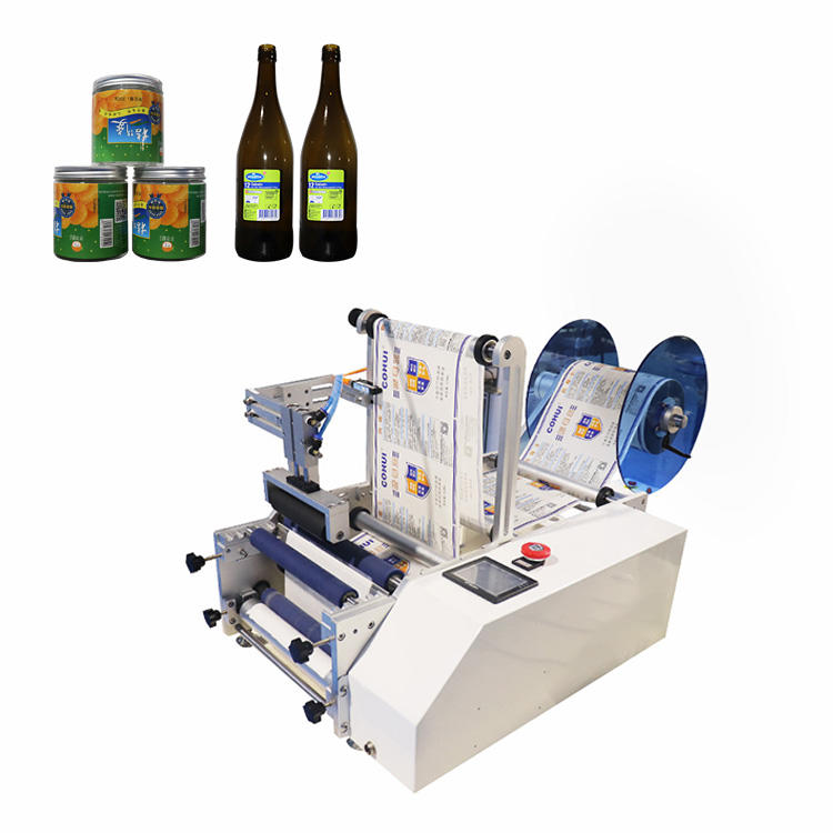 Semi-automatic Round Bottle  Labeling Machine with Fast delivery time