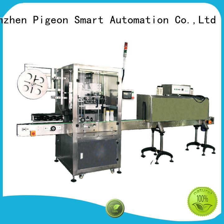 PST conveyor type auto label machine wholesale for boxes
