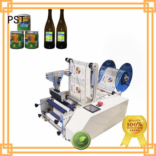 PST semi automatic bottle labeler factory for sale