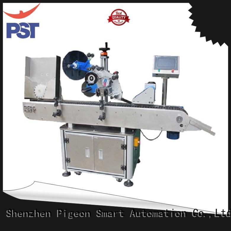 PST custom bottle sticker labeling machine factory for cosmetics bottles
