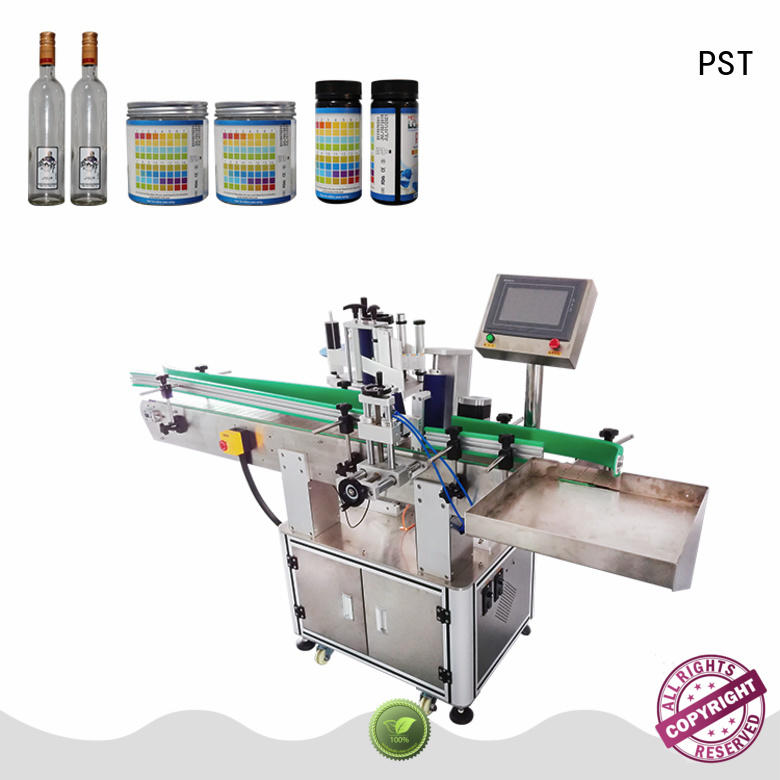 PST high quality semi automatic labeling machine company for industry