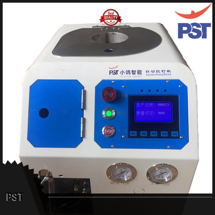 PST pneumatic automatic riveting machine manufacturer for blind rivets