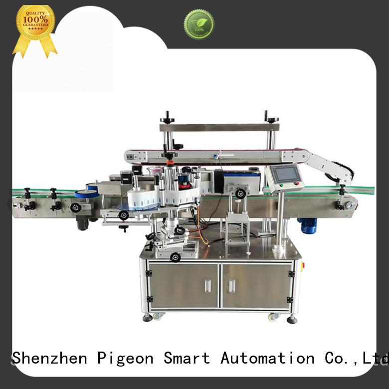 smart system double side sticker labeling machine manufacturer for square bottles