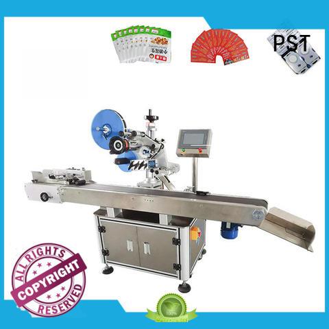 PST custom label machine for busniess for square bottles