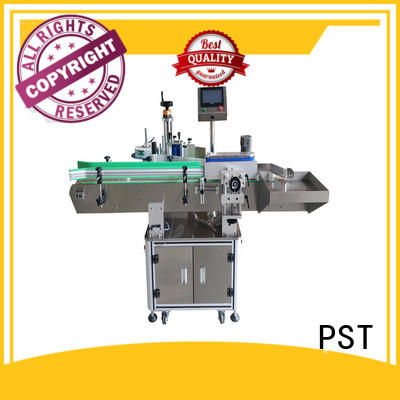 semi automatic round bottle labeling machine supplier for boxes PST