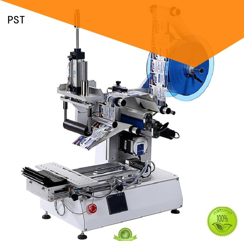 automatic bottle labeling machine shrink labeling equipment for square bottles PST