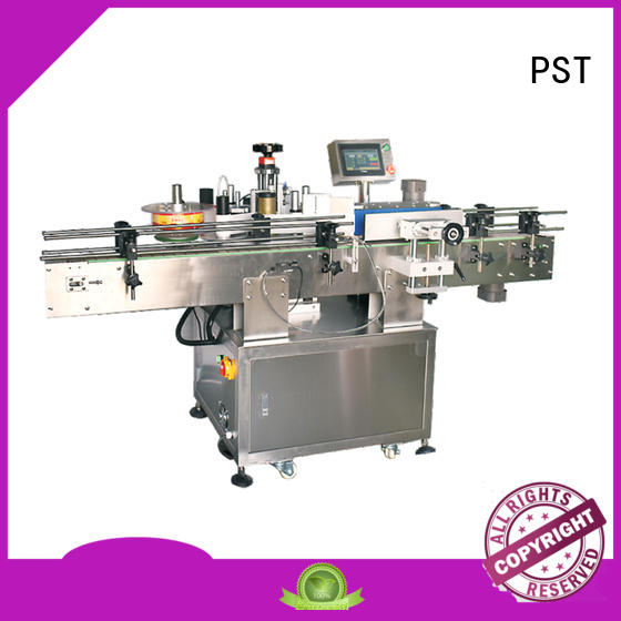 PST fully bottles labeling machine company for cards