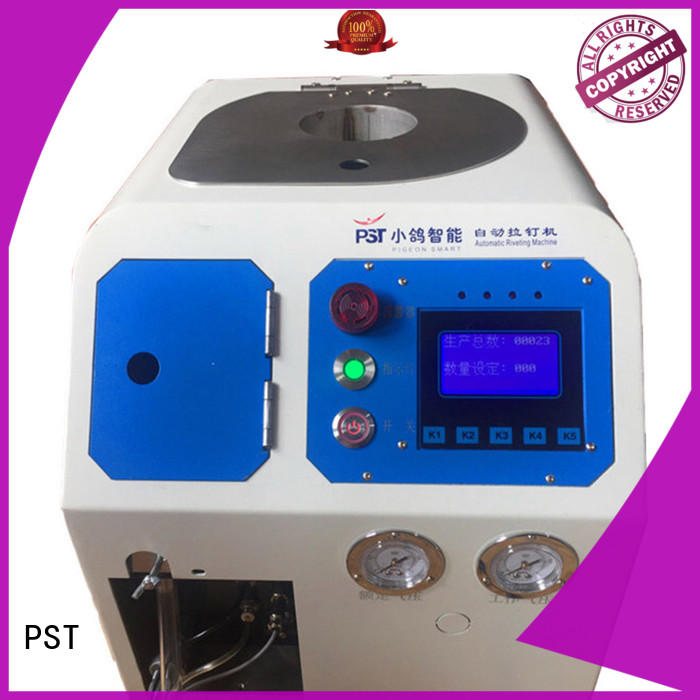 PST automatic feeding machine for flight case supplier for blind rivets