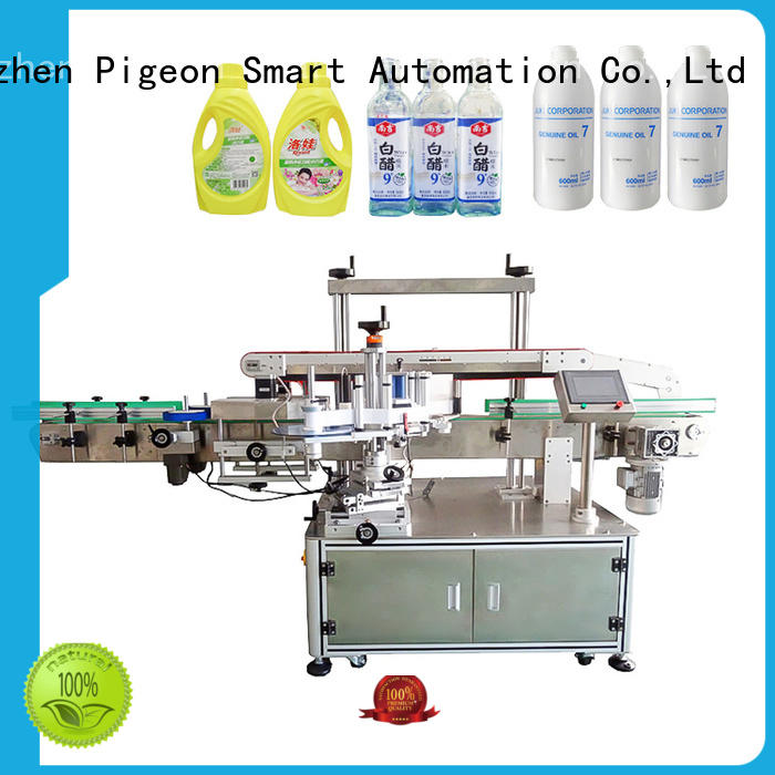 PST semi automatic labeling machine customization for boxes