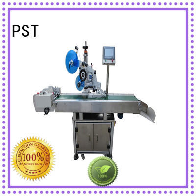 automatic flat surface labeling machine supplier for flat bottles PST