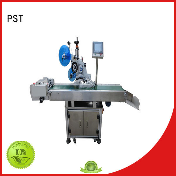 PST poly Flat Labeling Machine high end for flat bottles