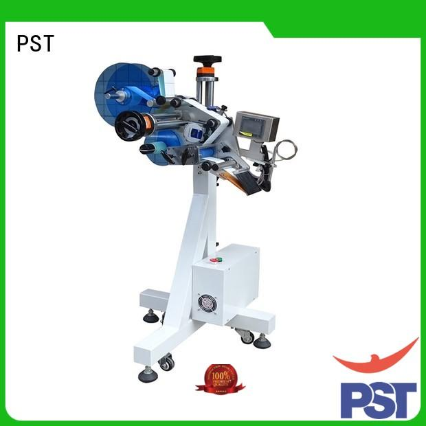 PST automatic flat labeling machine factory for bags